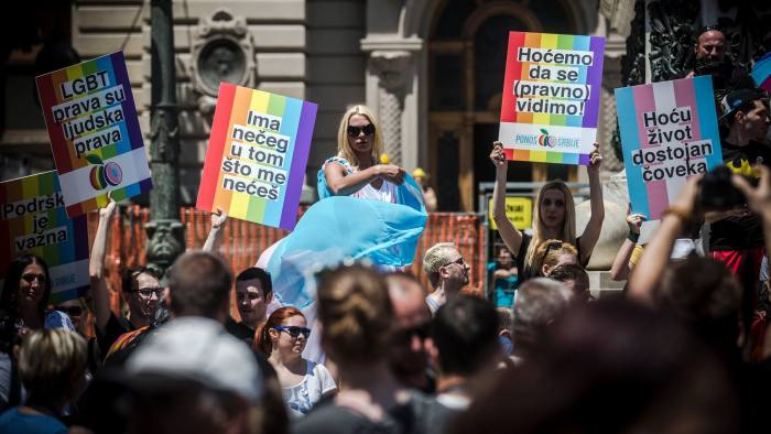 Serbia set for first openly gay leader