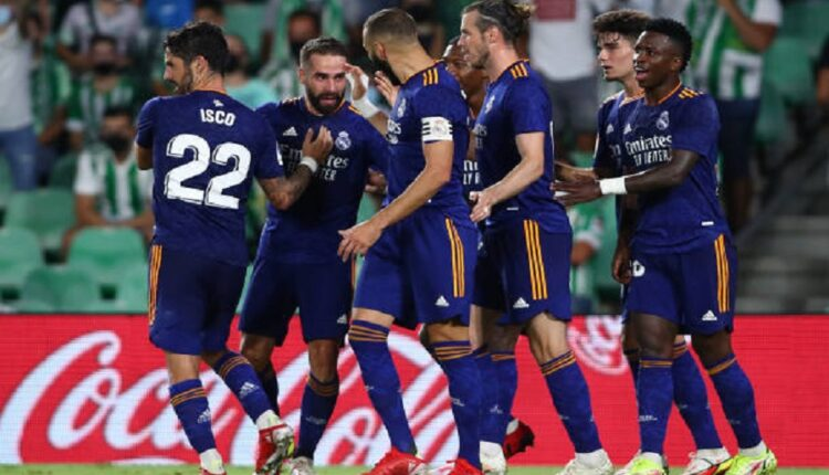 Real Madrid suffers but gets three points against Betis