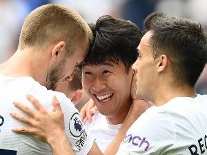 Tottenham's third minimum for the top of the Premier League