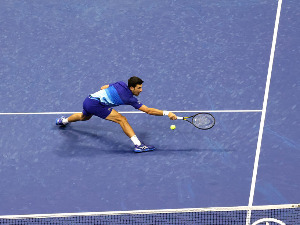 Djokovic raised the level of the game and routinely beat