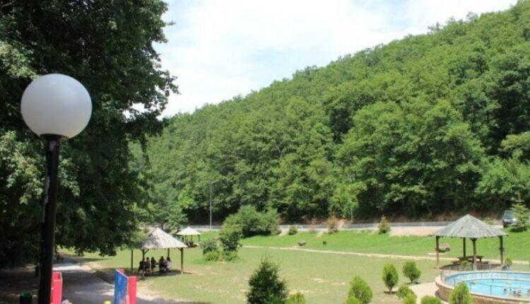 A bear appears in Germia Park, Ahmeti asks the citizens