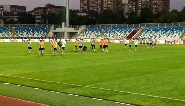 Spain also conducts the last training, ready for the challenge