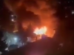 Fire in Kovid hospital in Tetovo, at least 10 victims