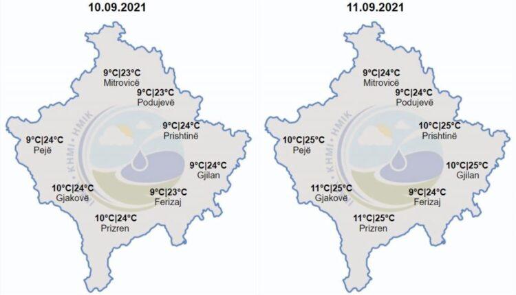 Weather forecast – KosovaPress