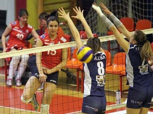 The first volleyball tournament of champions in Uzice