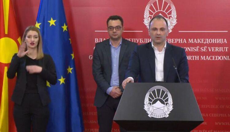 The Minister of Health of Northern Macedonia, Venko Filipce, resigns