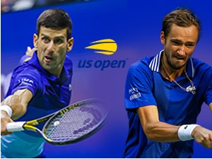 Djokovic with Medvedev in the historic final of the US