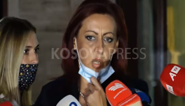 Emilia Rexhepi in favor of postponing the local elections until