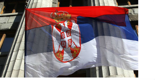 With the holiday of Serbian unity and the flag on