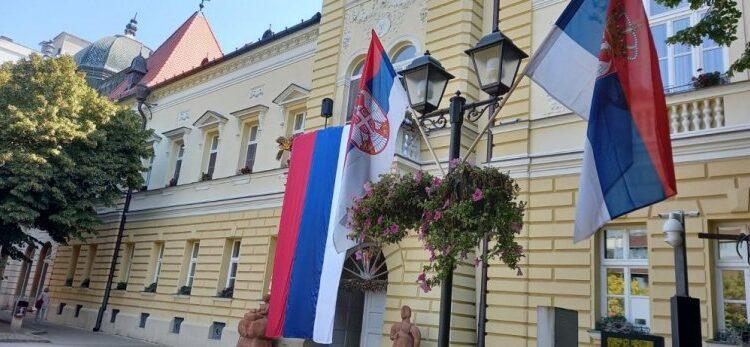 UNDER SERBIAN FLAGS PROUD KIKINDA! On the Day of Serbian