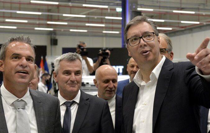 'REGENT LIGHTING' FACTORY OPENED! Vučić: This factory will mean not