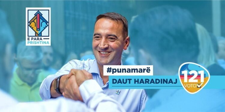 Daut Haradinaj with his program aims at the radical change