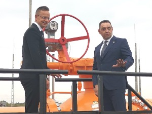 Balkan Stream gas interconnector in Szeged put into operation